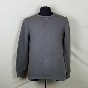 Brooks Brothers Red Fleece Henley Shirt Green Sz S
